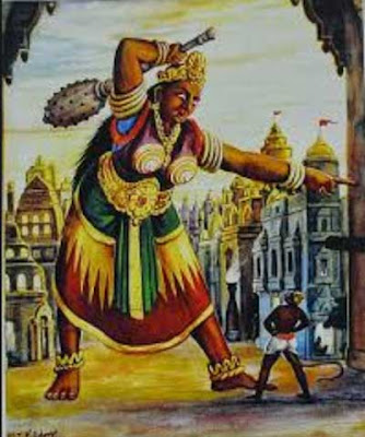 Hanuman Fighting Lankini