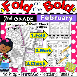 https://www.teacherspayteachers.com/Product/February-FOLD-ON-THE-BOLD-2nd-Grade-Self-Checking-Math-Literacy-Packet-2218510