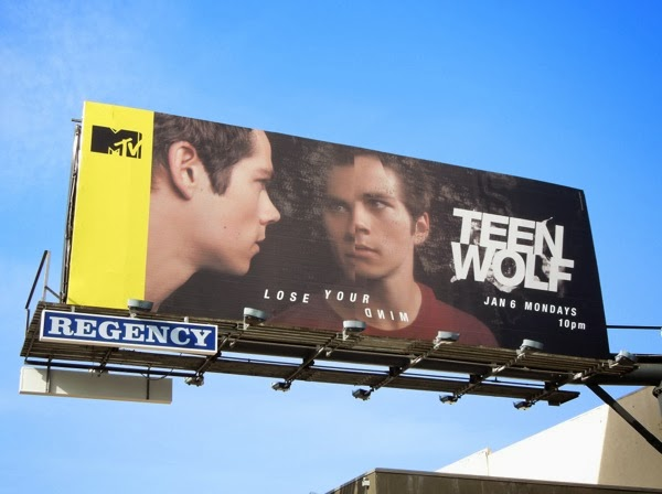Teen Wolf midseason 3 Stiles billboard