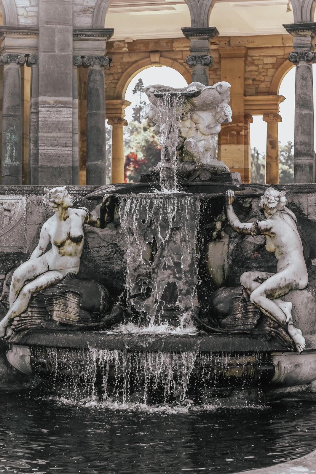 Hever Castle Roman Italianate Fountain