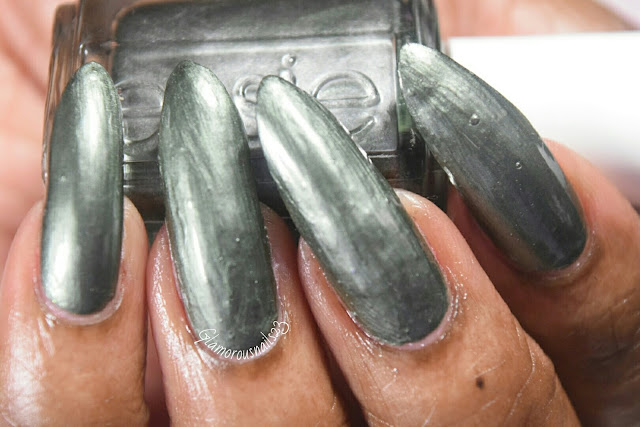Essie Metallic Green Swatch