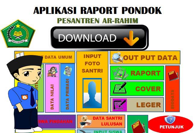 Aplikasi Raport Pondok Pesantren Fiture Lengkap