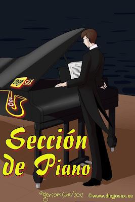 Estudio fácil para piano 2 Partitura para Piano Fácil y principiantes en Do Mayor y la Menor por diegosax