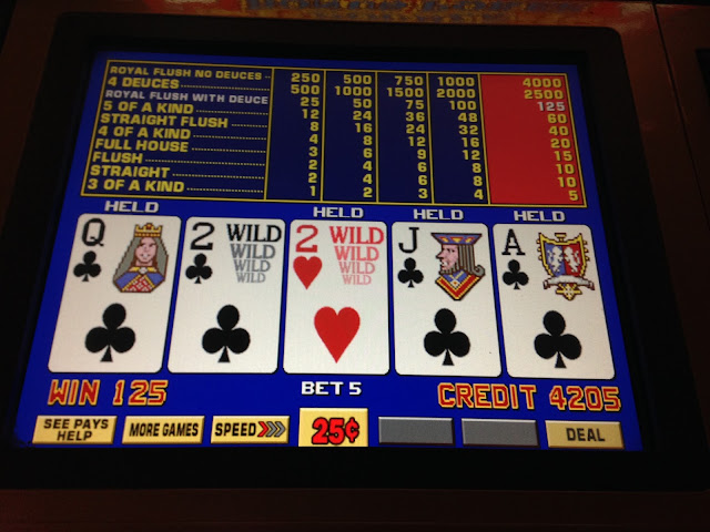 Video Poker Deuces Wild Royal Flush