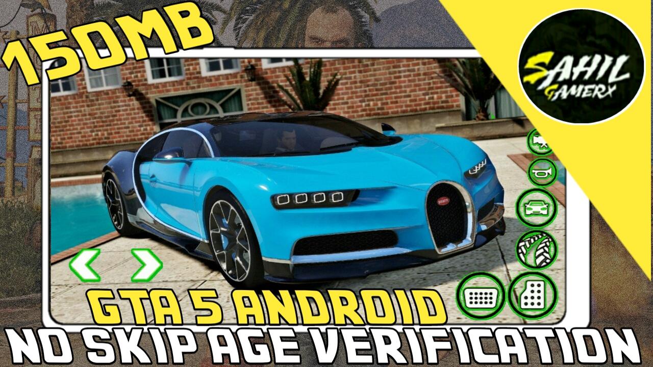 Gta 5 Android 150mb apk+data - SAHIL GAMERX