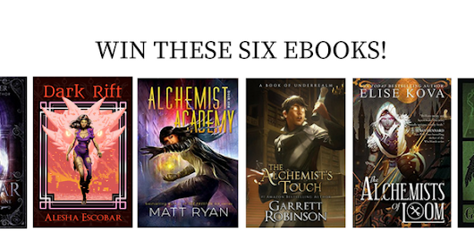Masters of Time: Sci-Fi And Fantasy Time Travel Stories: The Ultimate Alchemist Giveaway!