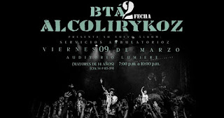 Concierto de lanzamiento de ALCOLIRYKOZ en Bogota