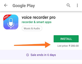 voice recorder pro paid app download free