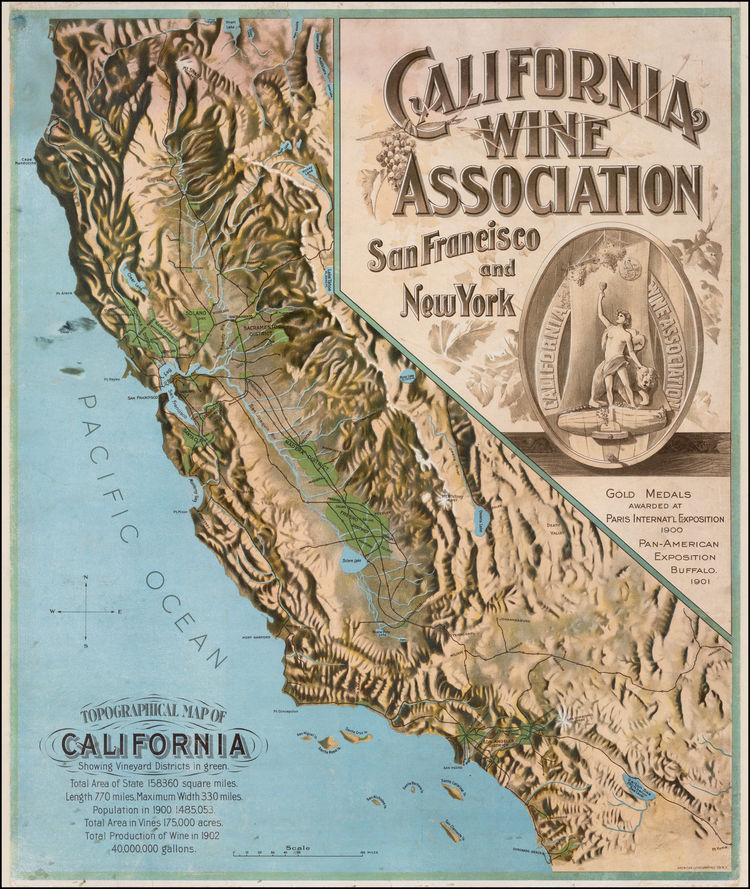 California Historical Society California Vintage Wine