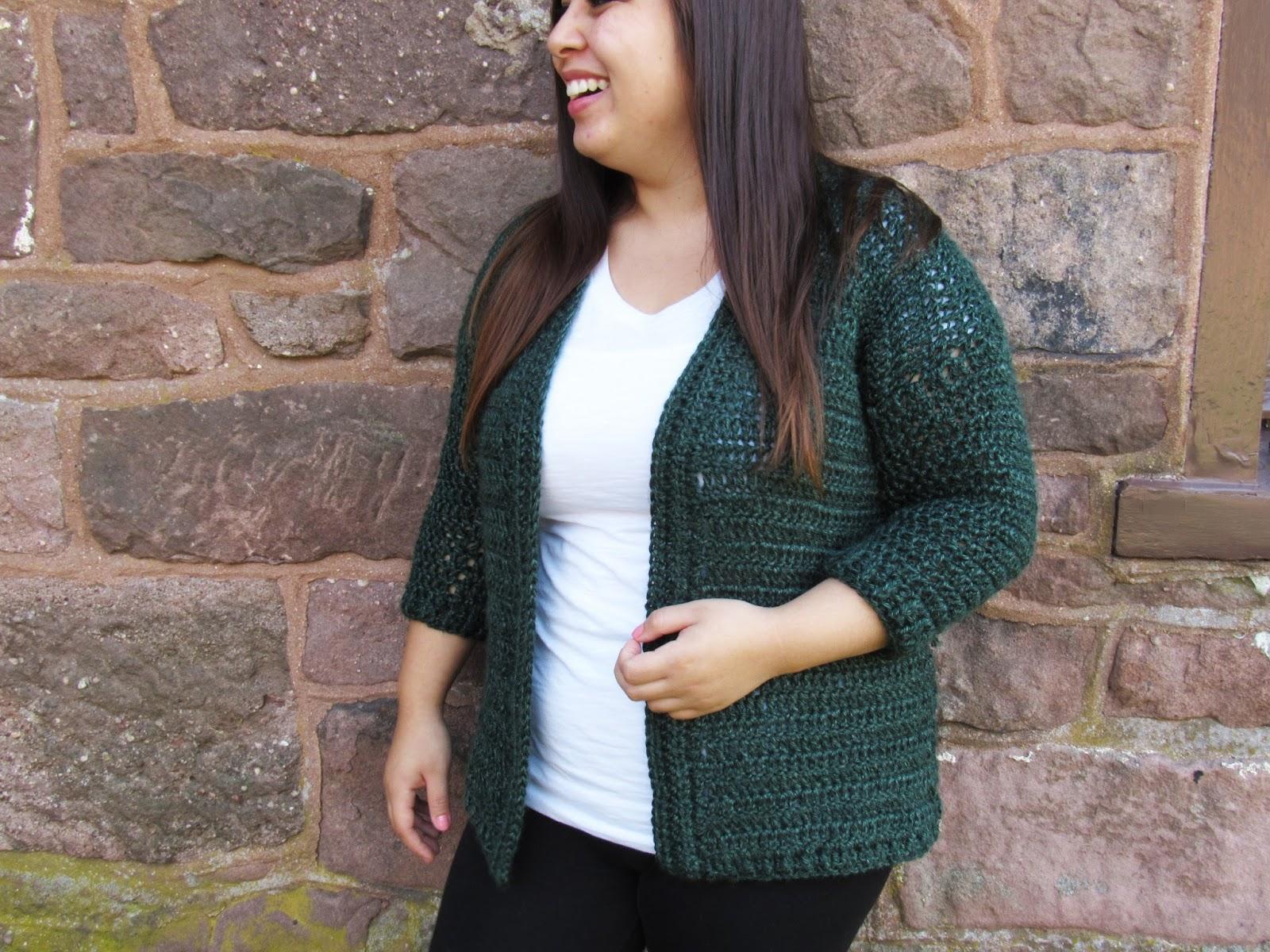 Heartland Cardy Cardigan Crochet Pattern Smallmedium Sizes