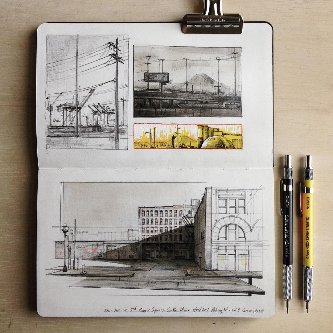 05-morning-commute-Jerome-Tryon-Observations-and-Ideas-in-Moleskine-Drawings-www-designstack-co