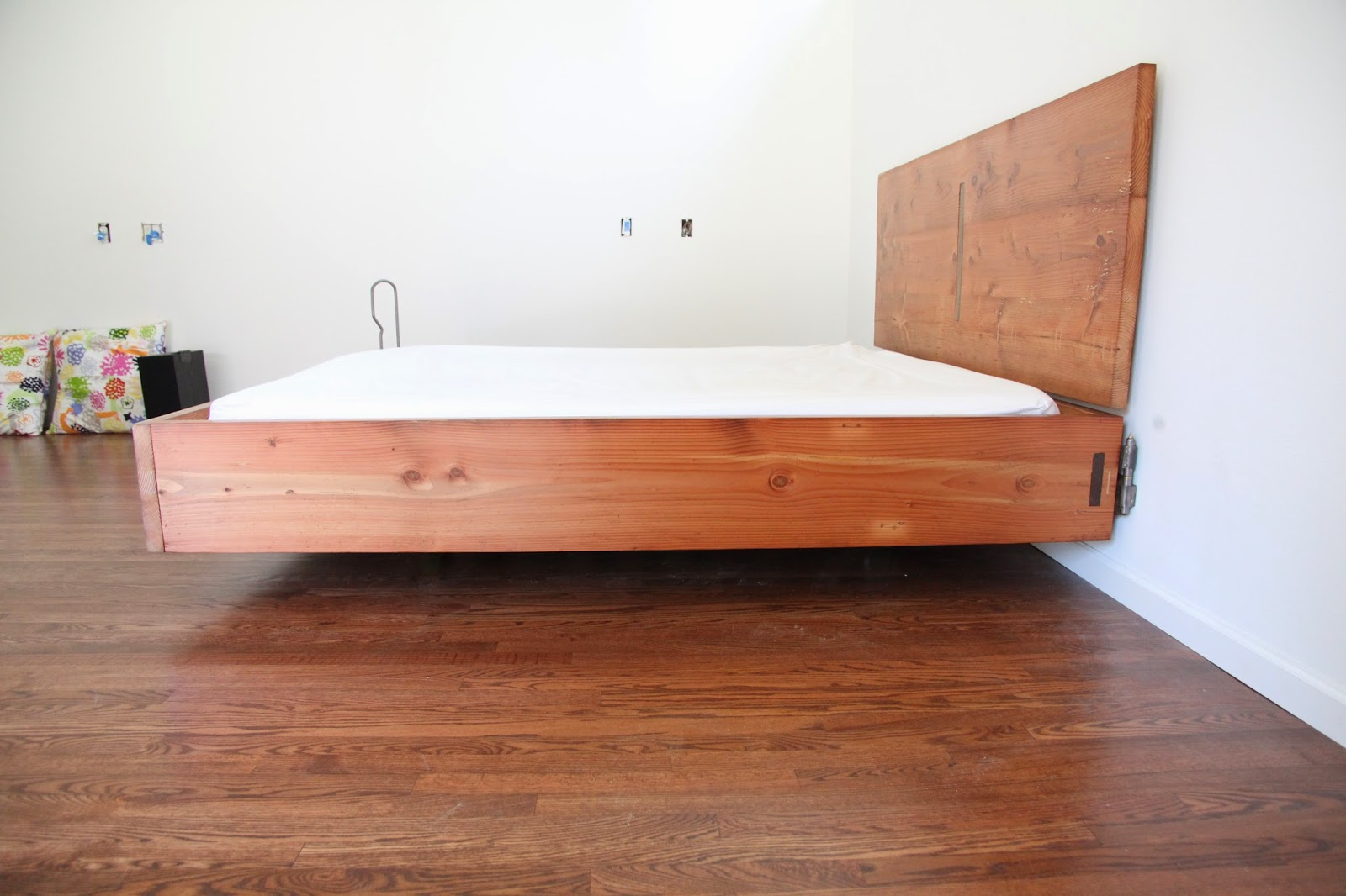 Floating King Size Bed