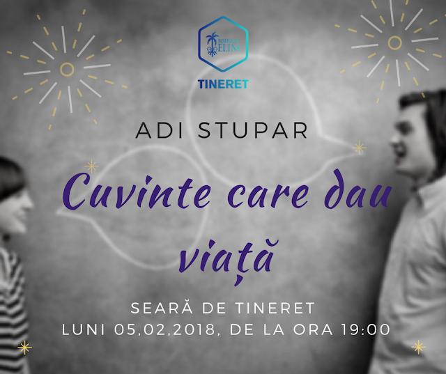Tineret: Cuvinte care dau viata - Elim Timișoara - 4 feb 2018