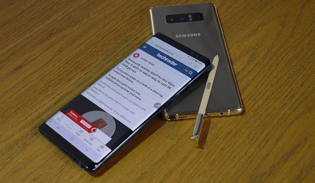 Galaxy Note Nine leaked before release