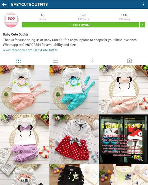 Instagram Baby Cute OutFits