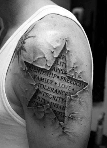 4b48710d47fe0 50+ Best Half Sleeve Tattoos For Men (2019) - Tribal Ideas With ...