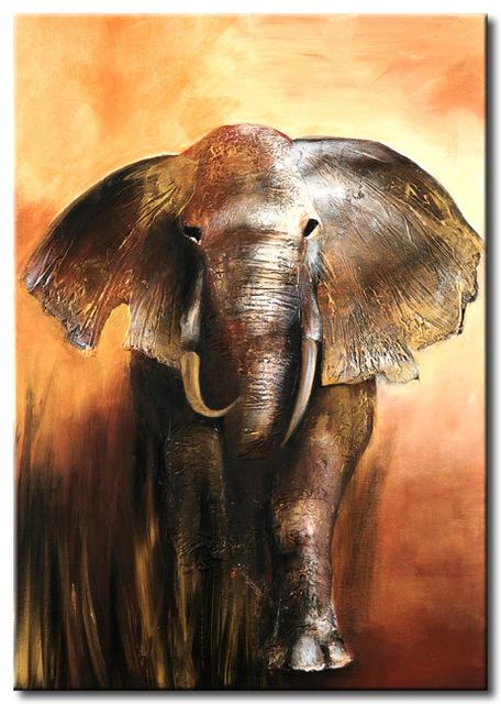 vẽ tranh voi nghệ thuật