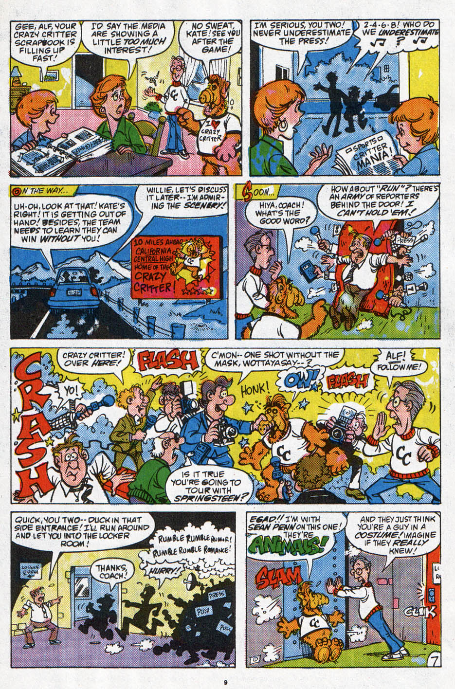 Read online ALF comic -  Issue #6 - 8