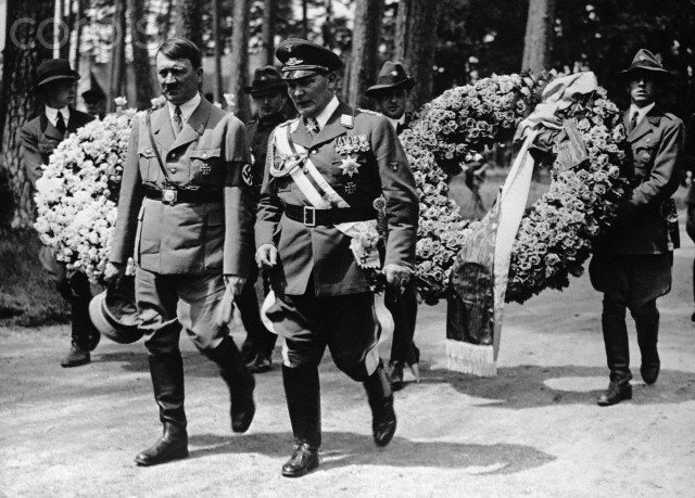 Hermann Goering Adolf Hitler Carinall Carin worldwartwodaily.filminspector.com