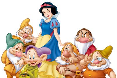 Snow White and 6 dwarfs