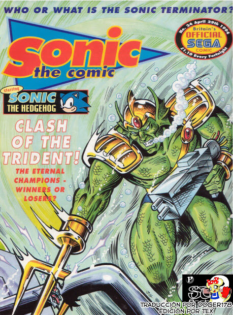 Sonic the Comic - Issue 024 [Español]