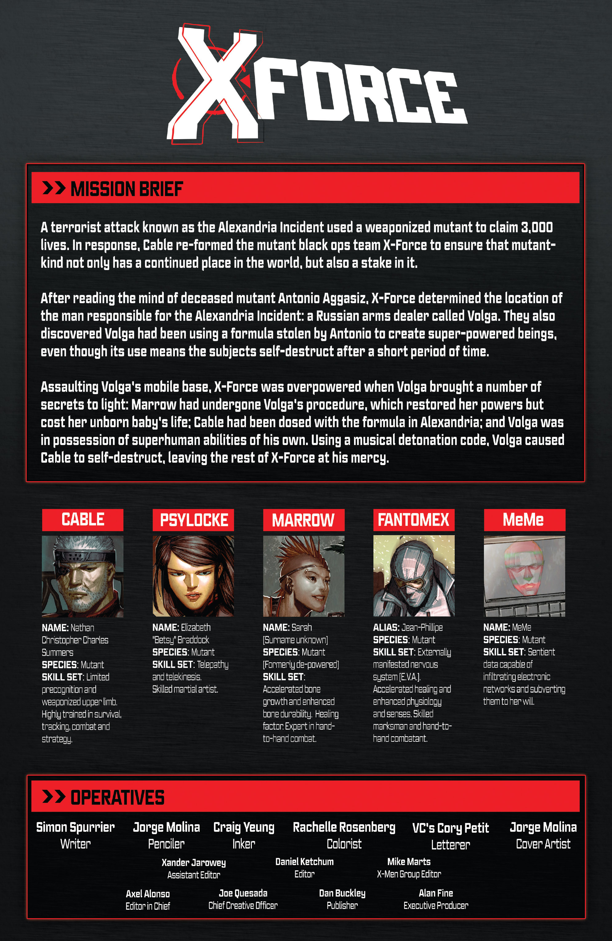 Read online X-Force (2014) comic -  Issue #6 - 2