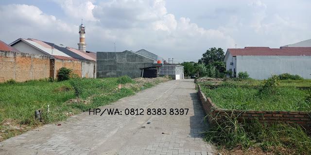 Jual Tanah Kavling Murah ukuan 6 x 14 m SHM Di Cluster Kelapa Gading Jalan Kelambir V Medan Sumatera Utara