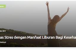 Untuk Blogger, Tips Hidup Sehat dari Dokterbabe