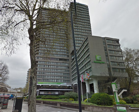 This Year Rbk C Refused An Lication For A Mega At The Foot Of Holiday Inn Kensington Forum Hotel In Cromwell Road