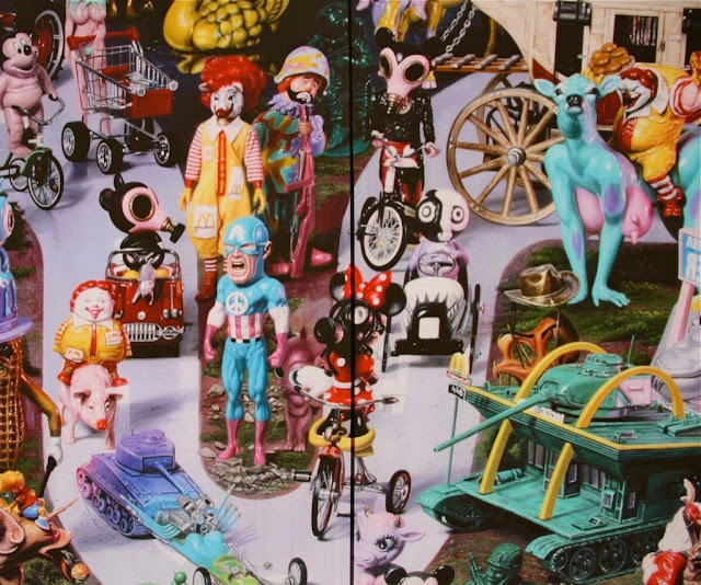 New Window Installations By Ron English, Know hOPE, Strøk and others in Berlin, Germany For Project M.