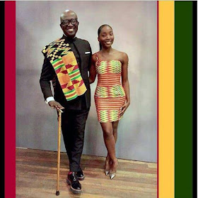 f - Ghanaian celebrities team up with their kids/dads in stylish photos to celebrate Father's day (Photos)