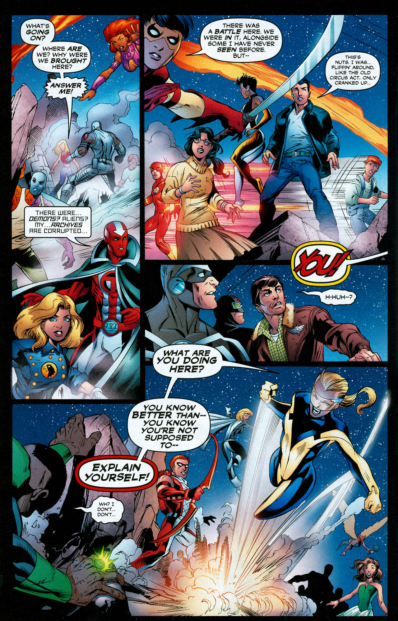 Read online Trinity (2008) comic -  Issue #18 - 9