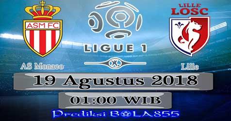 Prediksi Bola855 AS Monaco vs Lille 19 Agustus 2018