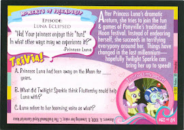 My Little Pony Nightmare Night Indeed! Series 1 Trading Card