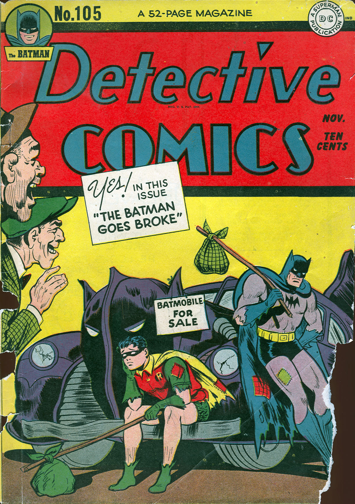 Read online Detective Comics (1937) comic -  Issue #105 - 1