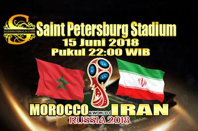 JUDI BOLA DAN CASINO ONLINE - PREDIKSI PERTANDINGAN PIALA DUNIA 2018 MOROCCO VS IRAN 15 JUNI 2018