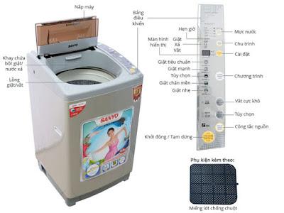 Sửa Máy Giặt Sanyo Tại Nhà Hà Nội Giá Sốc