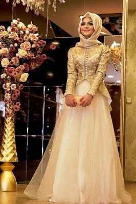 hijab pesta laudya chintya bella hijab pesta layer hijab pesta langsung pakai
