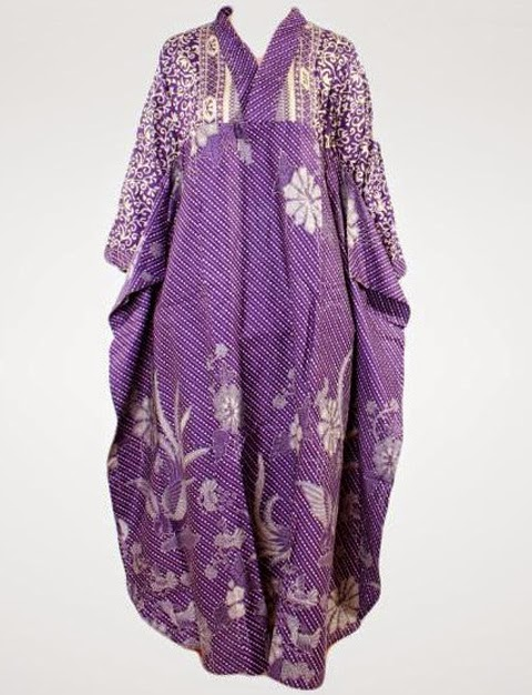model baju gamis modern batik sarimbit