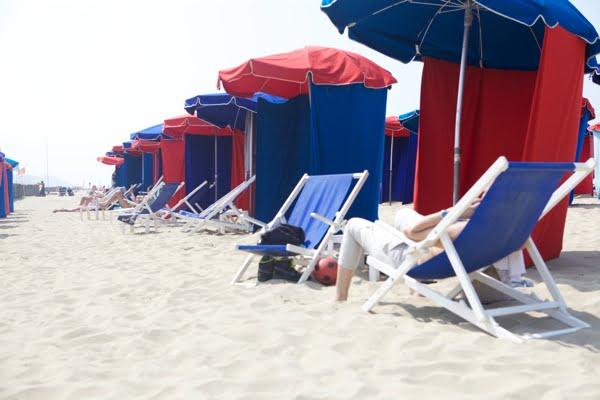 sombrillas, verano, labores, proyectos, playa, mar