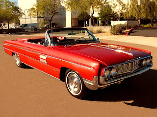 1962 Oldsmobile 98 Luxury Convertible Front Right