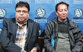 Roshan Giri and Binay Tamang