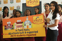 Actress Priya Anand with the Students of Shiksha Movement Event .COM 0021.jpg