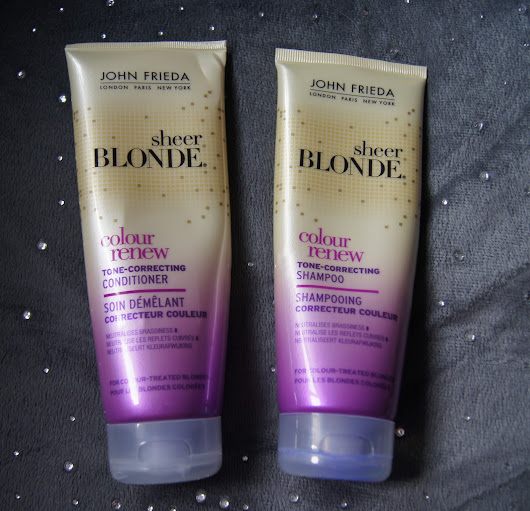 John Frieda Sheer Blonde - Colour Renew - Tone Correcting Shampoo and Conditioner - opinia / recenzja
