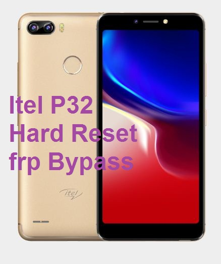 Itel P32 hard reset, frp bypass and hanging solution