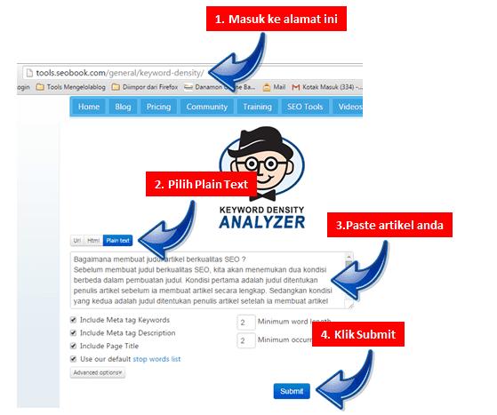 mencari kata kunci dominan untuk digunakan dalam judul postingan