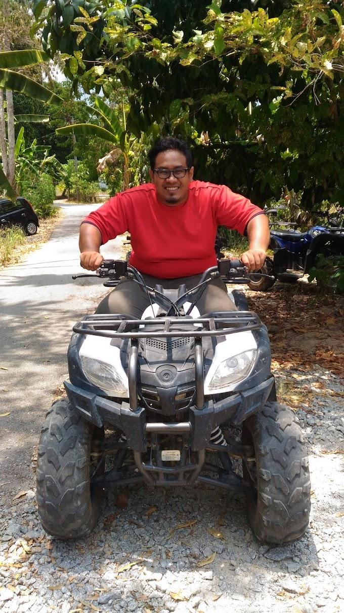 Pengalaman Pertama Naik ATV