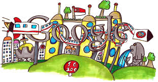 drawing static kinetic doodle 4 google