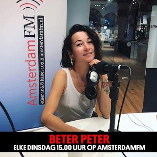 Birgit Schuurman te gast bij Beter Peter op AmsterdamFM