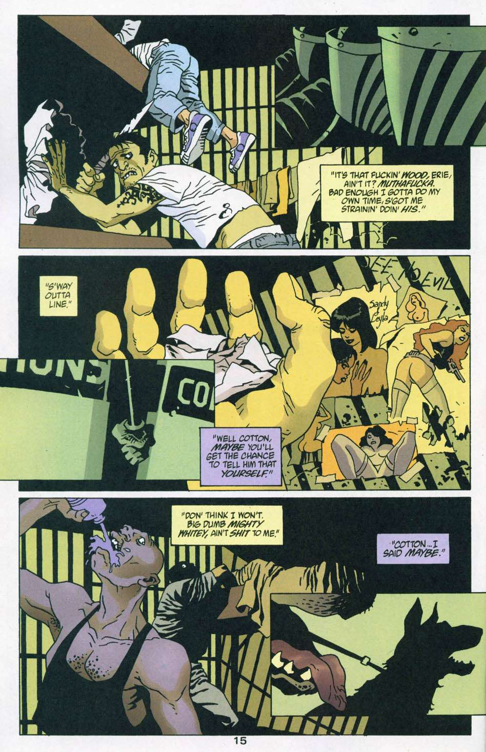 Read online 100 Bullets comic -  Issue #44 - 16